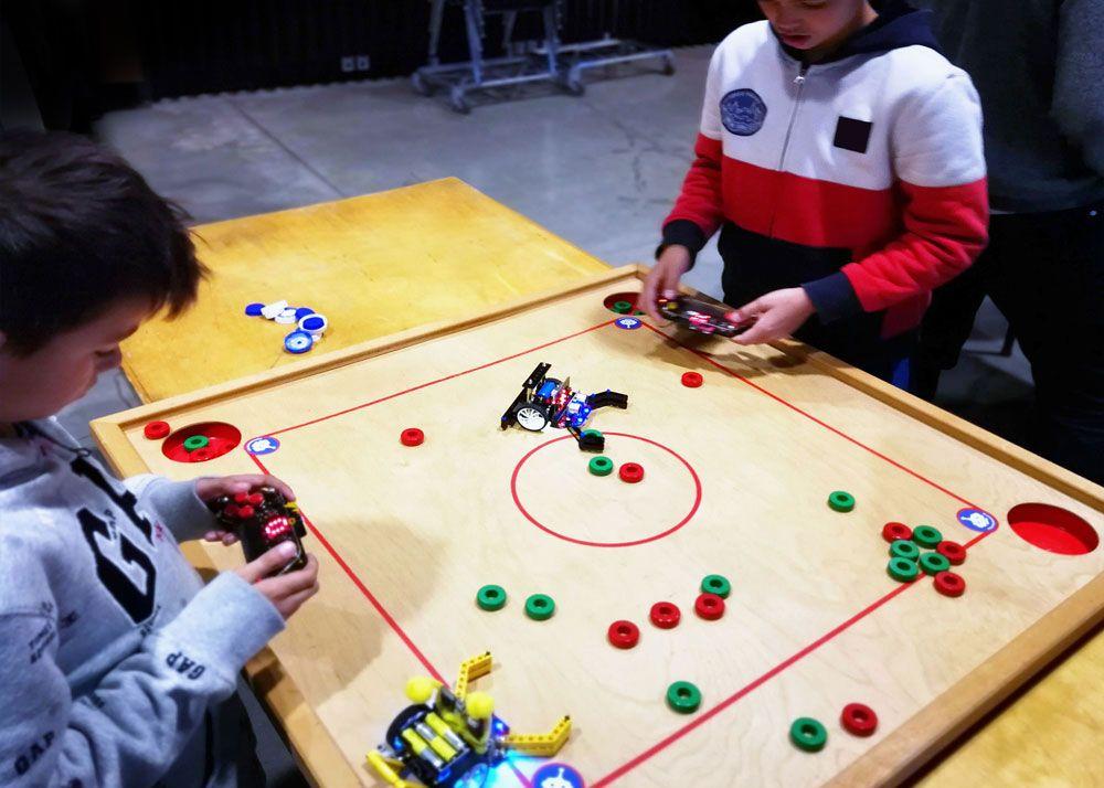 Robot-Bob bygges med micro:bit