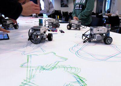 LEGO Mindstorms tegnerobotter
